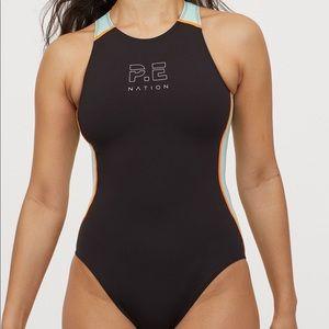 HM P.E nation swimsuit - BNWOT - size L